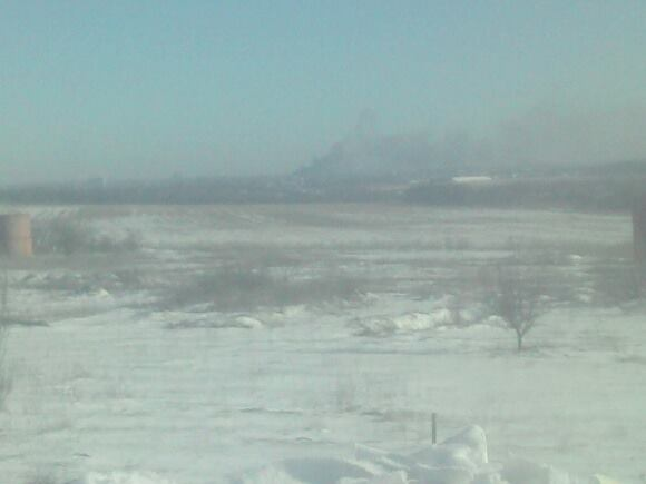The commander of the DUK PS: smoke is rising over Donetsk airport. The fight is going on