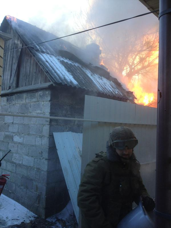 Fire at the checkpoint