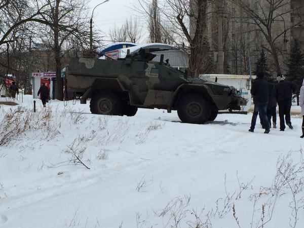 Russian BPM-97 Vystrel mod. Dozor-N in Luhansk