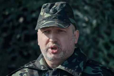Turchynov works in the area of the ATO today