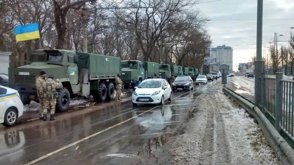Natonal Guard arrived at Odessa