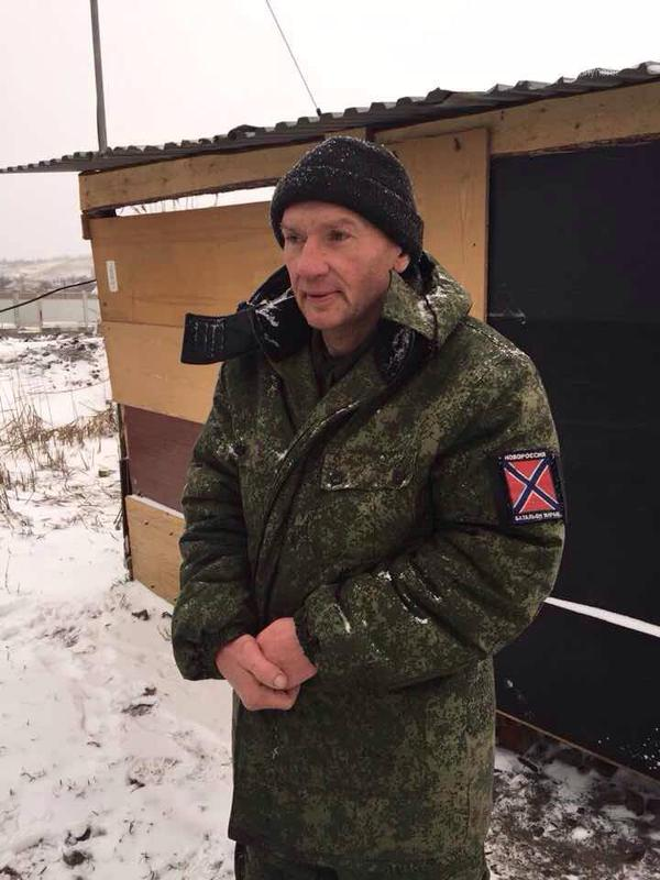 Ukraine partisans in Novoazovsk brought in a DNR militant to the Security Services in Mariupol