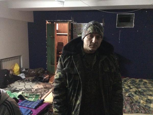 Still Maidan activists live under the Maidan Kyiv