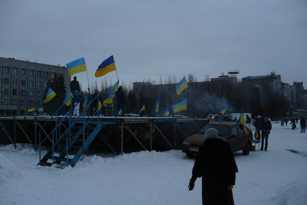 Rally in Slavyansk