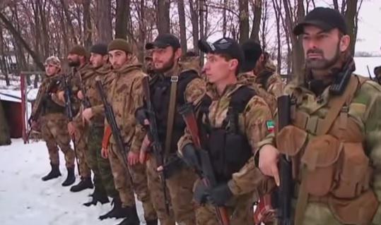 120 Kadyrov militants have arrived near Zugres