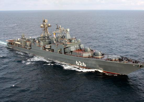 Northern fleet warship Vice-Admiral Kulakov completed the longest (265 days) trip and returned in Severomorsk