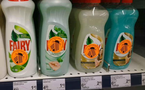 """Labelling """"Colorado potato beetle"""" was appeared in the Lithuanian shops"""