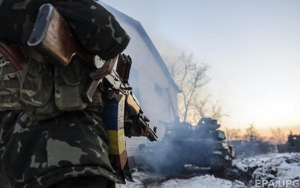 Sniper wounded Ukrainian military in the zone of ATO