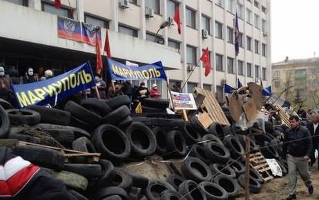 The militants, who seized the government of Donbass, began to penetrate in Mariupol