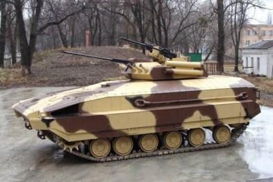 Kharkiv armored vehicles plant released APC that can withstand a direct hit from a rocket launcher