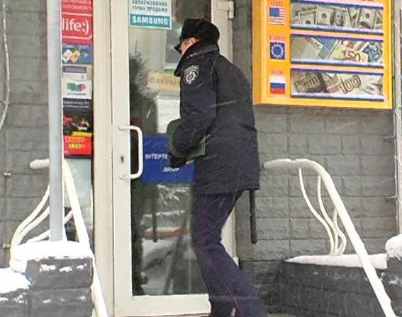 Details of robbery of exchanger by a man with explosives in Kherson became known