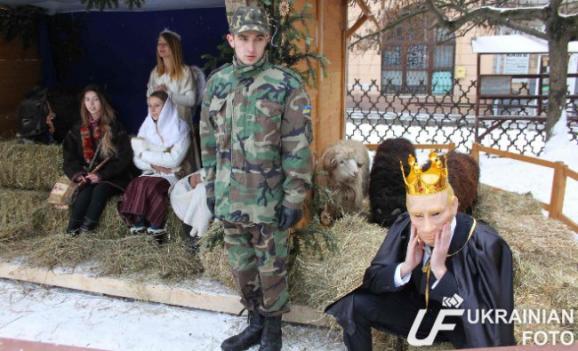 Putin won the role of King Herod in nativity scene in Lviv