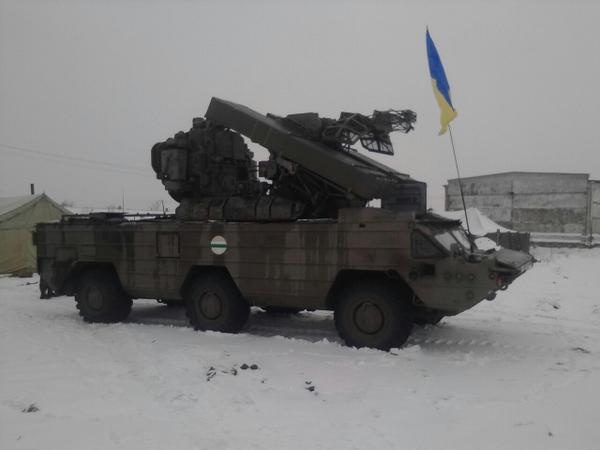 Ukrainian SA-8 Gecko