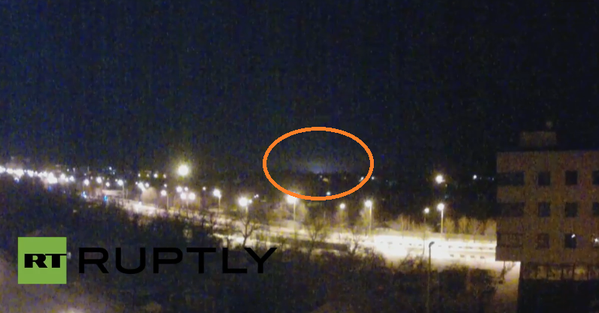 Shelling again in area of Donetsk airport