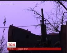 Lugansk militants hit Svetlichnoe with GRAD: the missile hit a residential house