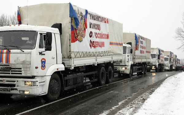 The ICRC and the Ukrainian border guards could not inspect 124 trucks of last humanitarian convoy