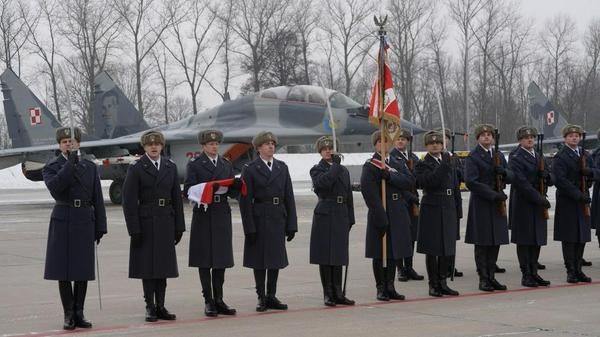 Polish pilots go to BalticAirPolicing