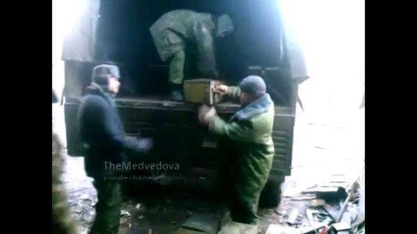 Supply convoy arrived to Donetsk