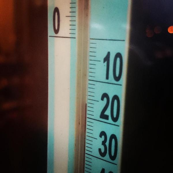 Crimea is suffering record low outside temperatures. Heating is broken in many places. Gas pressure is very low.