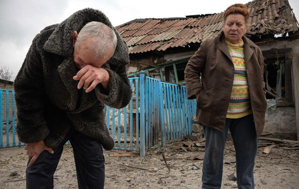 Because of shelling in Donetsk died 2 civilians