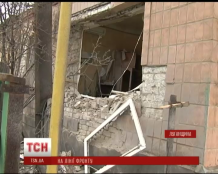 The militants of LNR shelled Stanytsia Luhanska, destroyed the sports school and damaged residential houses