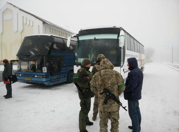 Evacuation of Poles from Donbass