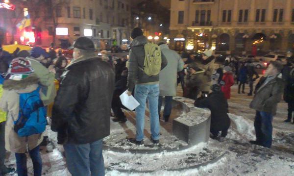 Kharkiv. JeSuisCharlie vigil