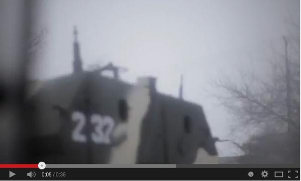 4 Russian APC BMP-97 Vystrel in Krasnodon