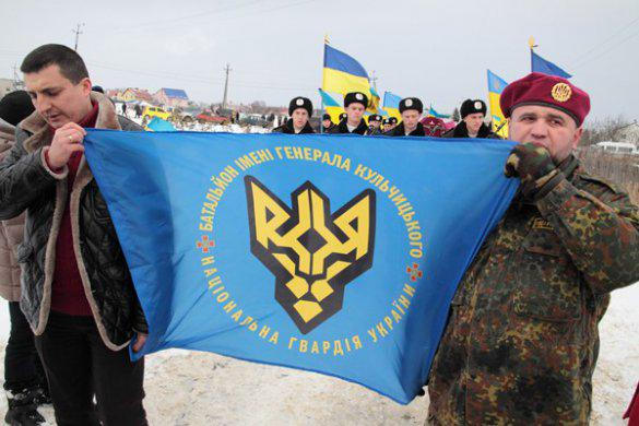 In Donetsk and Lviv region three fighters of The National Guard of Ukraine who were killed in an accident on January 5 were buried