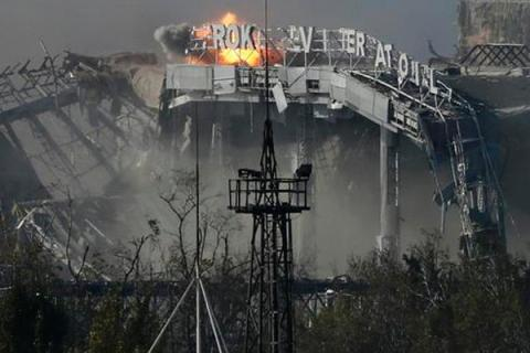 At Donetsk airport resumed fighting, - Headquarters ATO