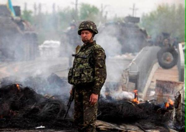 The coy of assault regiment of the Russian armed forces was wiped out, 55 killed