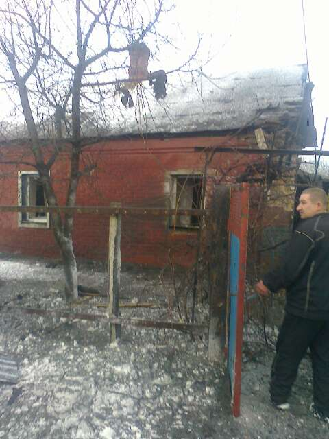 Avdiivka, consequences of shelling