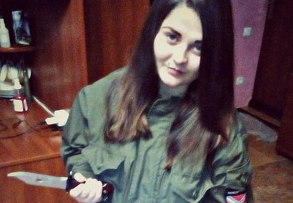 19-year-old girl sniper was detained in Donbass