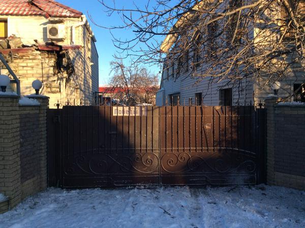 Avdiivka, Pobedi street. Conseqences