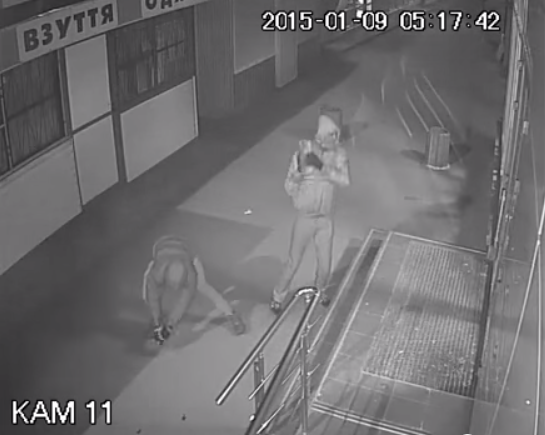 President's Roshen Candy stores were targeted by vandals