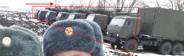 Several SA-22 Greyhound near Ukrainian border