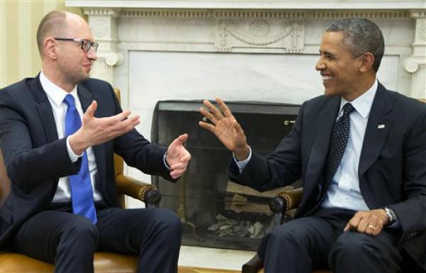 USA ready to give Ukraine $1 billion after  reforms, Yatsenyuk waiting for $2