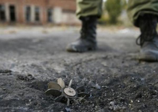 Two Ukrainian militants were blown up by the landmine in Luhansk region