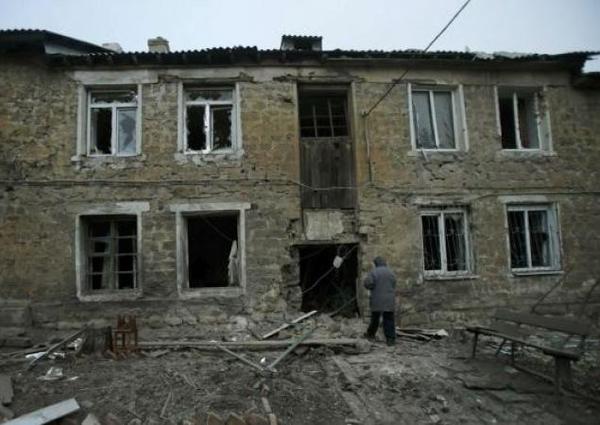 The terrorists fired Stanytsia Luhanska with the help of MLRS Grad