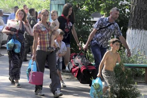 The number of internal migrants from the Crimea and Donbas is 643 thousand people