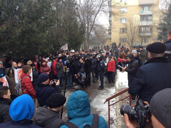 Rally in Izmail  against police inaction