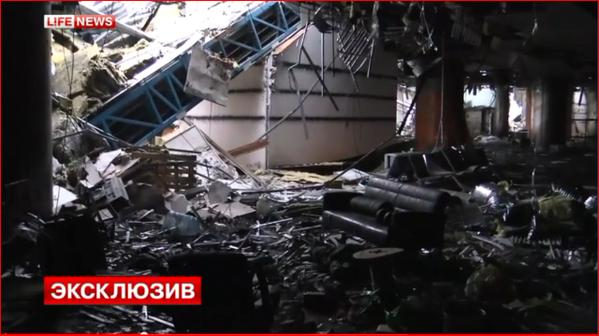 Russian terrorists fighting Ukraine troops IN NEW TERMINAL Donetsk Airport