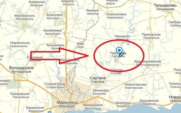 Forward units of militants moved to Pavlopil'