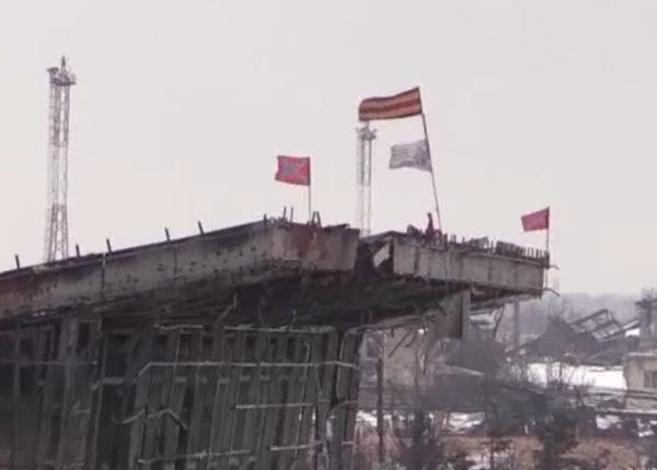 Russian-Backed Militants Say They Control Part of Donetsk Airport's New Terminal