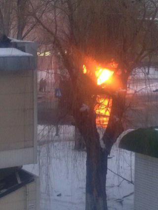 Another bus attack in Donetsk