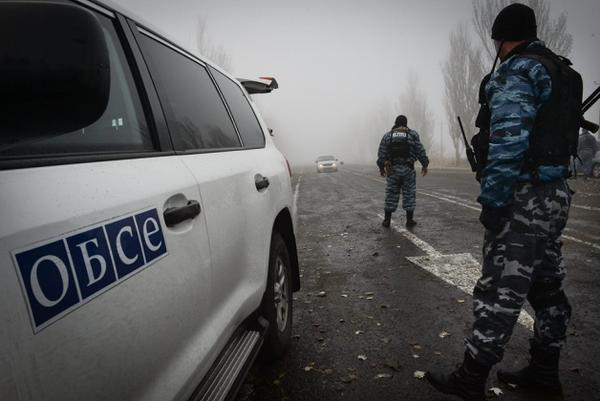 In the area of the ATO fired on a patrol mission of OSCE