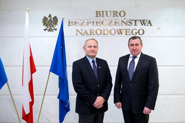 Poland solidarity with Ukraine is the main signal of the today's meeting of the Ambassador @ADeshchytsia with the Chairman of the Bureau of national security