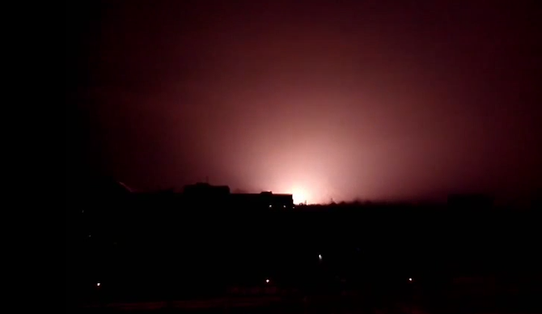 Shelling on the southern Donetsk front in the Petrovsky district