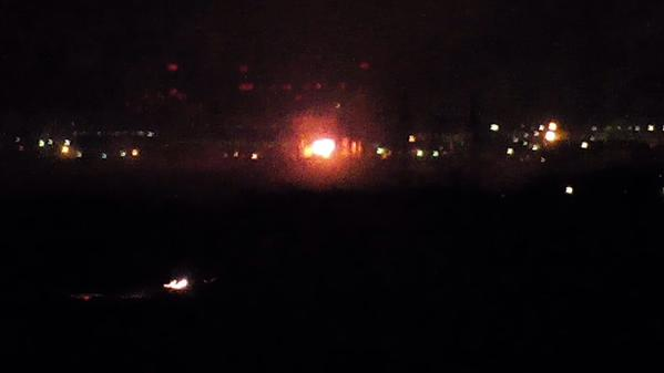 Strong fire at transformer of Yuzhnoukrainsk Nuclear Power Plant. Extinguished for now