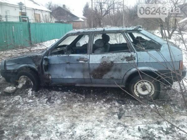 Horlivka after shelling